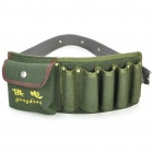 Mulit-Function Electrician Canvas Waist Bag Pouch - Dark Green