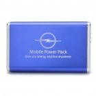 "USB aufladbare ""5000mAh 'Emergency Battery Pack w / 9 Adapter für Handy + More - Blue"