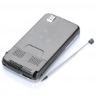 "N900 GSM Projector TV Touch Phone w/ 3.1"" Resistive Screen, Dual SIM, Quadband and FM - Black"