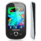 "Samsung S3650 2.8"" Touch Screen Quadband GSM Music CellPhone w/ Java + FM - Black + White"
