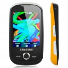 "Samsung S3650 2.8"" Touch Screen Quadband GSM Music CellPhone w/ Java + FM - Black + Yellow"