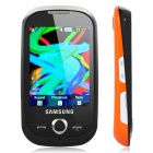 "Samsung S3650 2.8"" Touch Screen Quadband GSM Music CellPhone w/ Java + FM - Black + Orange"