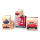 Cars Figure Wooden Stamps Set (6-Piece Pack)