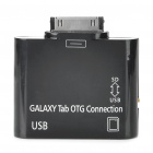 OTG Connection Kit + SD Card Reader for Samsung P7510/P7500/P7300 - Black