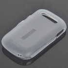 NILLKIN TPU Protective Matte Frosted Case for ALCATEL OT-906 w/Screen Protector - White