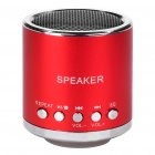 Portable Rechargeable Music Speaker Player with TF - Red