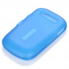 NILLKIN TPU Protective Matte Frosted Case for ALCATEL OT-906 w/Screen Protector - Blue