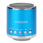 Portable Rechargeable Music Speaker Player with TF - Blue