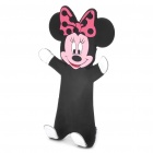 Flexible Minnie Mouse-Stil Handy-Halter Stand - Schwarz + Rot