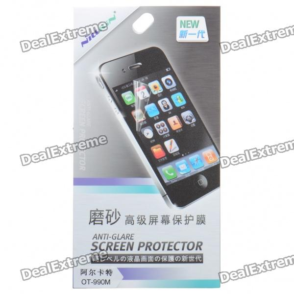 Matte Screen Protector/Guards with Cleaning Cloth for Alcatel OT-990M