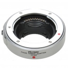 Mise au point automatique Olympus Micro 4/3 Objectif de 4/3 Camera Lens Adapter-Argent + Noir