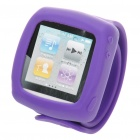 Silicone Wrist Band for iPod Nano - Purple (27.5cm)