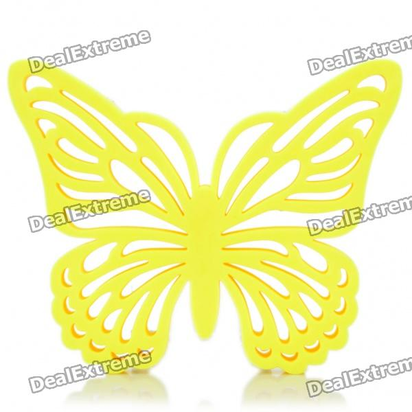 Butterfly Shaped Pot Holder Hot Pad Heat Insulation Pads - Random Color (6-Piece Pack) все цены