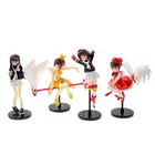 Sakura Anime Figures (4-Figure Set)