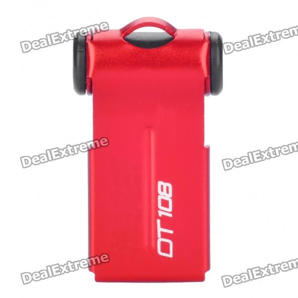 Designer's USB Flash/Jump Drive - Red + Black (8GB)