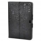Protective PU Leather Case for Samsung P7510 - Black