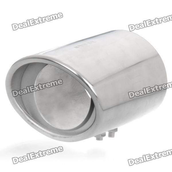 Stylish Stainless Steel Car Exhaust Pipe Muffler Tip for Honda CRV - Silver stainless steel tuned pipe exhaust for zenoah rcmk sikk rc boat 23 30cc 380mm