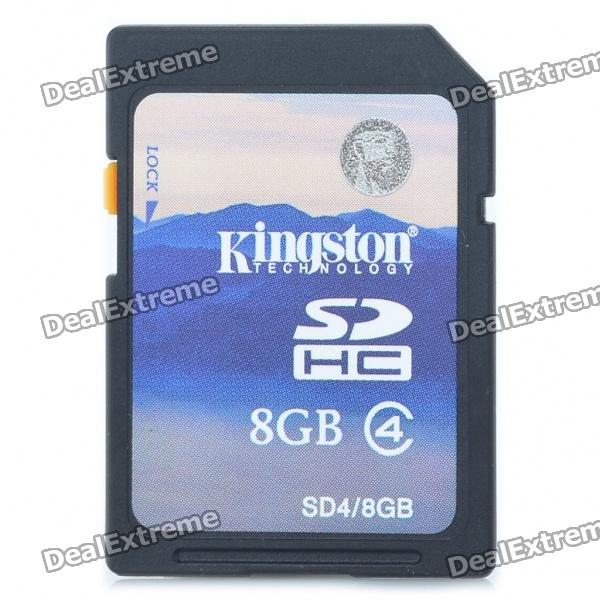 где купить Genuine Kingston SDHC Flash Memory Card - 8GB (Class 4) дешево