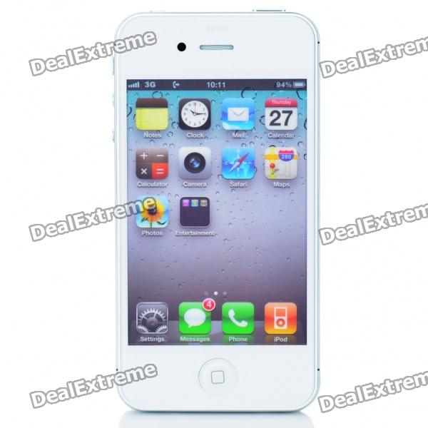 Non-Working Fake Dummy iPhone 4S Sample Display Model - White + Silver