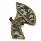Columbia Steel Camouflage Axe with Strap and Sheath - Black + Grey