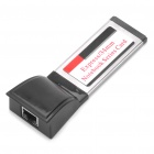 RJ45 34mm Express Card Adapter for Laptop - Black