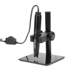 500X 5.0MP Pen Style USB 2.0 Digital Microscope w/ 4-LED Illumination / Working Station