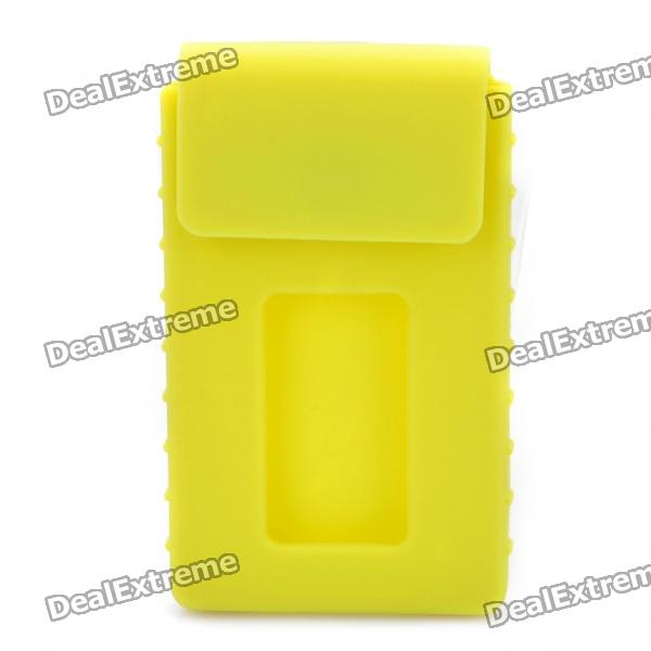 Stylish Silicone Cardcase for Business Card - Yellow