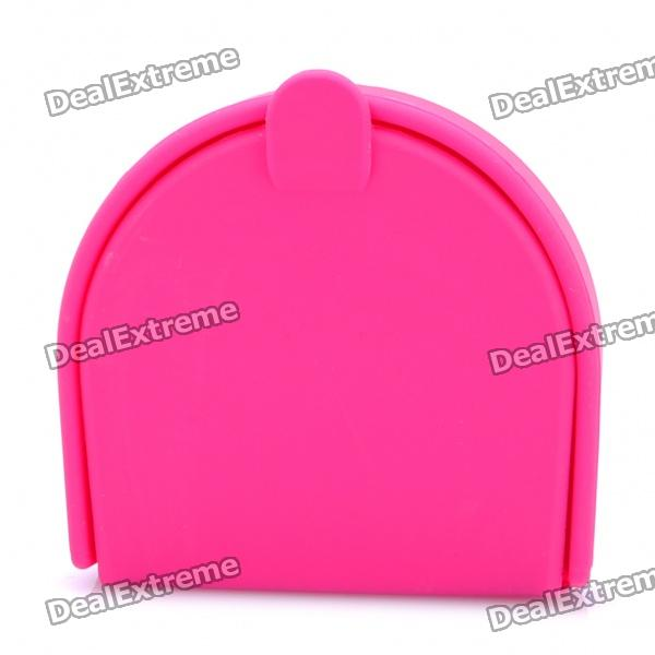 Small Silicone Storage Case/Box for Changes and Tiny Objects - Deep Pink spark storage bag portable carrying case storage box for spark drone accessories can put remote control battery and other parts