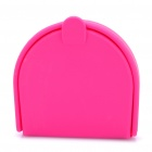 Small Silicone Storage Case/Box for Changes and Tiny Objects - Deep Pink