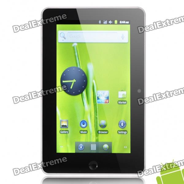 "7 ""емкостный экран Android 2.3 Tablet PC ж / двойная камера / WiFi / Bluetooth / HDMI / TF (1GHz/4GB)"