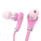 Designer's Cool In-Ear Stereo Earphone - Pink (3.5mm Jack/100cm - Cable)
