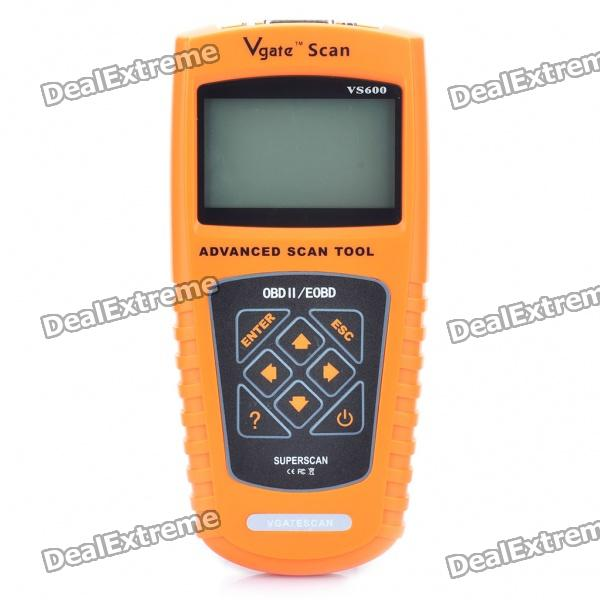 VS600 2.7 LCD OBDII/EOBD Scan Tool ms509 artistic standard accurate maxiscan obdii eobd car scanner