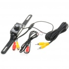 "E322 1/4"" CMOS Wired Waterproof Car Rearview Camera w/ 7-IR LED Night Vision (NTSC / DC 12V)"