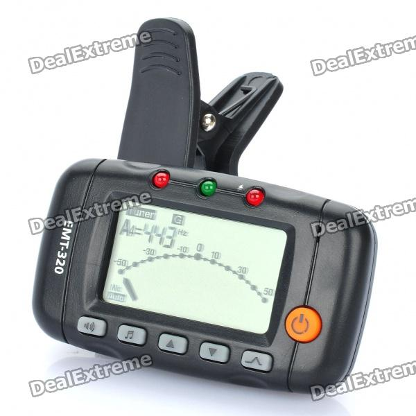 EMT-320 1.5 LCD Display Metronome & Tuner with Clip tv tuner out of range