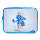 "Smurfs Style Protective Soft Bag with Dual-Zipped Close for 10"" Laptop Notebook"