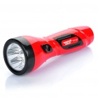 Rechargeable 2-Mode 5-LED White Light Flashlight