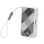 SmartCable Compact TF Card Reader with Data/Charging Cable for iPhone - Black + White