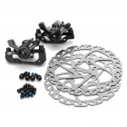 MX4 Aluminum Alloy Mountain Bike Disc Brakes and Rotors Kit (Front + Rear)