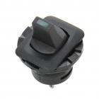 ST0403 Car Vehicle Rocker Switch with Green Indicating Light - Black (12V/10A)
