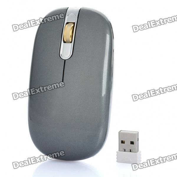 2.4GHz Wireless 800DPI Optical Air Mouse with USB Receiver (2 x AAA)