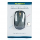 2.4GHz Air Mouse sem fio 800dpi Optical com receptor USB (2 x AAA)