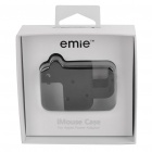 Stylish Power Adapter Protective Case + Cable Winder + Holder for Iphone 4S - Black
