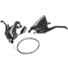 SHIMANO 3 x 8 24 Speed Mountain Shifters Kit - Black (Pair)