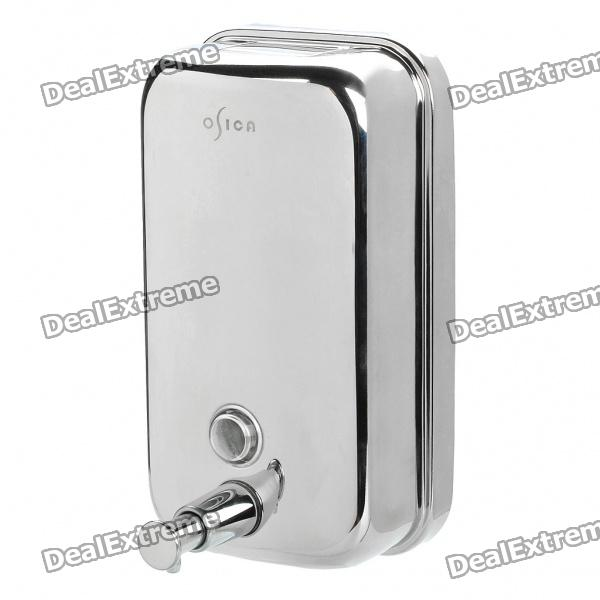 Stainless Steel Soap & Sanitizer Dispenser (800ml) automatic 500ml wall mount liquid soap dispenser bath 304 stainless steel shampoo dispenser for bathroom washroom