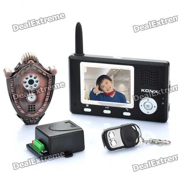 "3.5"" LCD 2.4GHz Digital Wireless Viewer"
