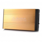 "USB 2.0 3.5"" SATA/IDE HDD External Case Enclosure - Golden"