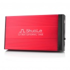 "USB 2.0 3.5"" SATA/IDE HDD External Case Enclosure - Red"