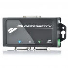 DVI Audio Game Switch GameSwitch for PS3 / XBox 360 (Black)