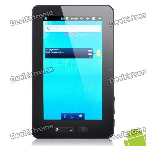 """7 """"kapazitiven Touchscreen Android 2.3 Tablet PC w / Kamera / TF / HDMI (A10 Cortex A8 1 GHz / 8 GB)"""