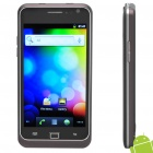 "9100 4.1"" Capacitive Screen Android 2.3 Dual SIM 3G WCDMA Smartphone w/ Wi-Fi + GPS - Black"